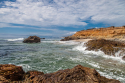 Churning tides
