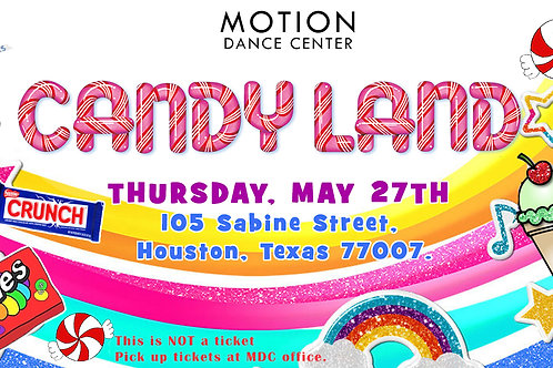Candy Land Ticket