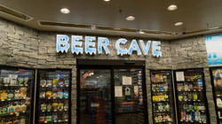 inside arco 1 (beer cave)
