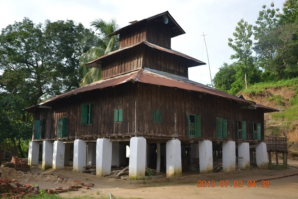 Oldest Wooden Temple