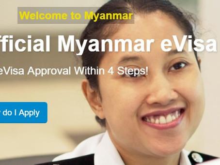 Myanmar eVisa & Visa on Arrival