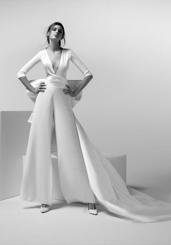 vestidos de lineas puras