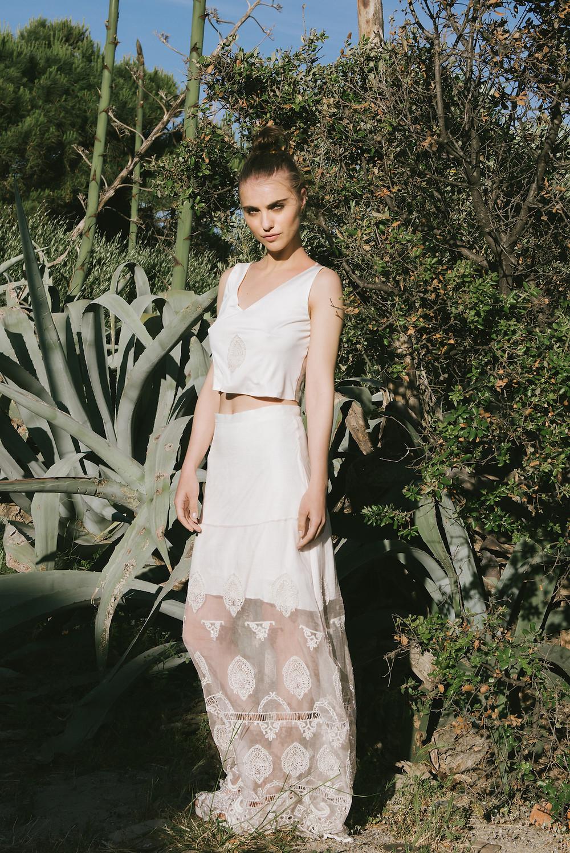 vestido de quince boho