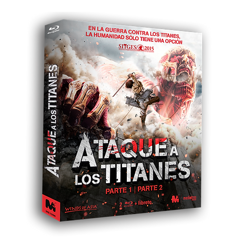 Ataque a los Titanes: Parte 1 y 2 (Blu-ray)
