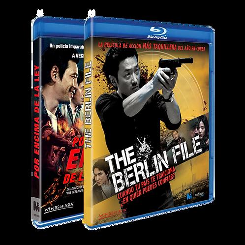 Por encima de la ley + The Berlin file (Blu-ray)