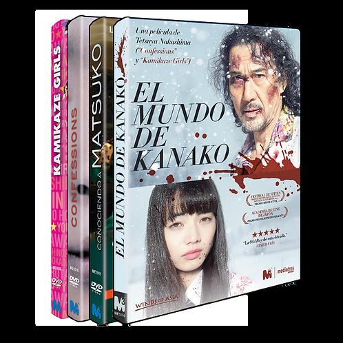 Pack Tetsuya Nakashima Esencial (DVD)