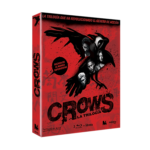 Pack Trilogía Crows (Blu-ray)