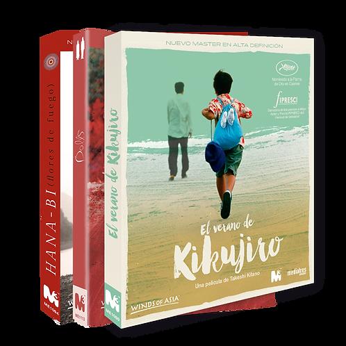 Dolls + El verano de Kikujiro + Hana-bi (Blu-ray)
