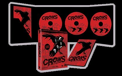 Pack Crows: La trilogía completa (BR)