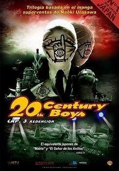 20TH CENTURY BOYS. CAP.3: REDENCIÓN de Yukihiko Tsutsumi