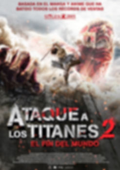 ATAQUE A LOS TITANES 2: EL FIN DEL MUNDO de Shinji Higuchi