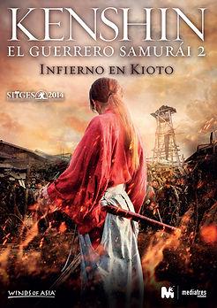 KENSHIN EL GUERRERO SAMURÁI 2: INFIERNO EN KIOTO de Keishi Otomo