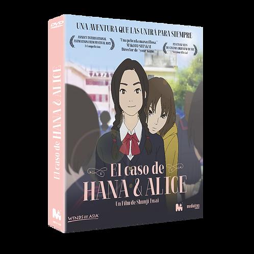 El caso de Hana y Alice. Ed. Coleccionista 2 discos (DVD)