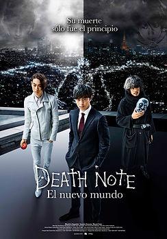 DEATH NOTE: EL NUEVO MUNDO de Shinsuke Sato