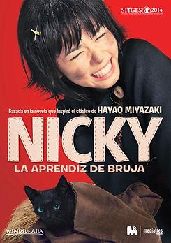 NICKY, LA APRENDIZ DE BRUJA de Takashi Shimizu
