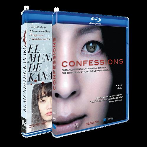 Confessions + El mundo de Kanako (Blu-ray)