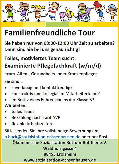 Familienfreundliche Tour