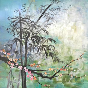 Bamboo and Plum Blossoms