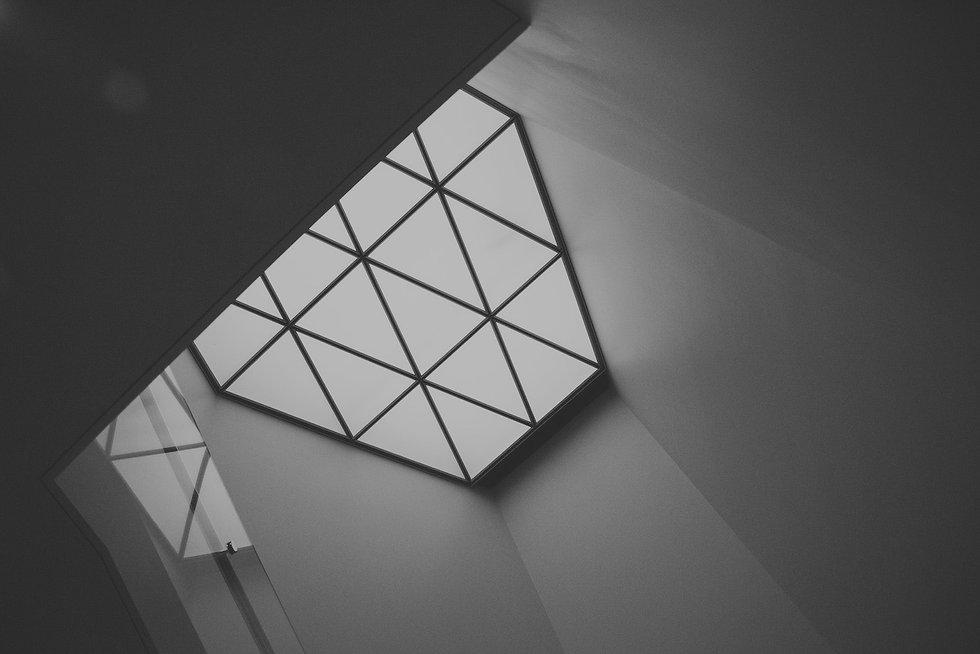 grayscale-photo-of-glass-panel-window-20