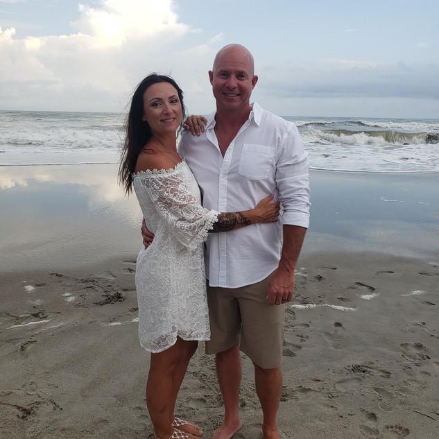 Topsail Beach wedding Always Faithful Do