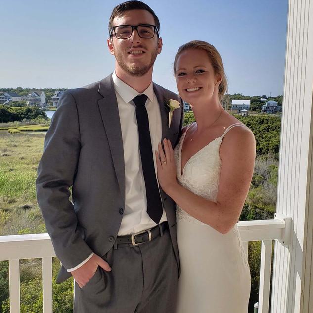 North Topsail Wedding