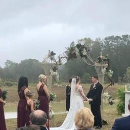 Outdoor Wedding at Avirett-Stephens Plantation