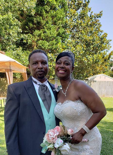 Outdoor wedding in Jacksonville, NC