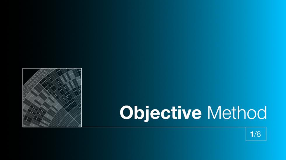 1/8 Objective Method