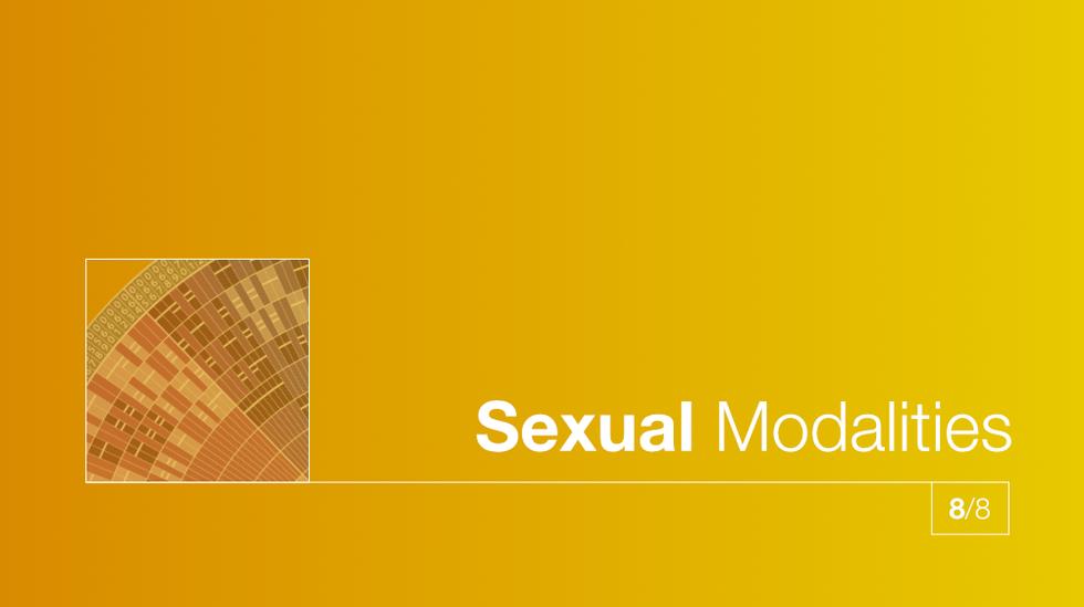 8/8 Sexual Modalities