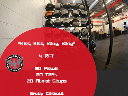 WOD for August 5, 2016