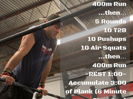 WOD for July 22, 2016