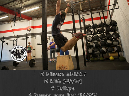 WOD for July 3, 2016