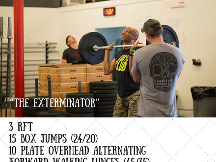 WOD for July 18, 2016