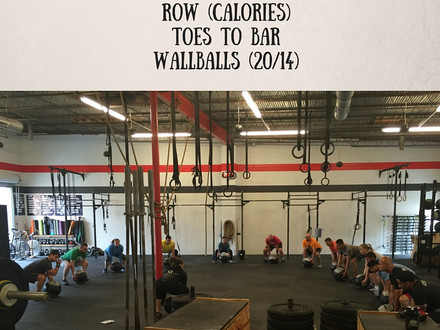 WOD for July 7, 2016