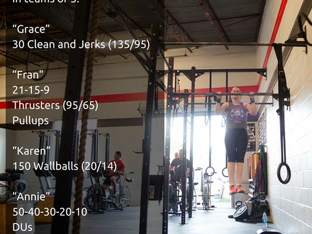 WOD for June 4, 2016