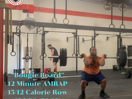 WOD for May 24, 2018