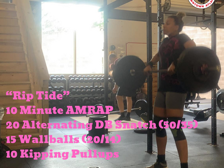 WOD for May 23, 2018