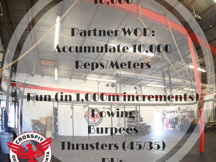 WOD for August 6, 2016