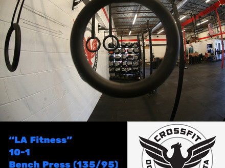WOD for August 7, 2016