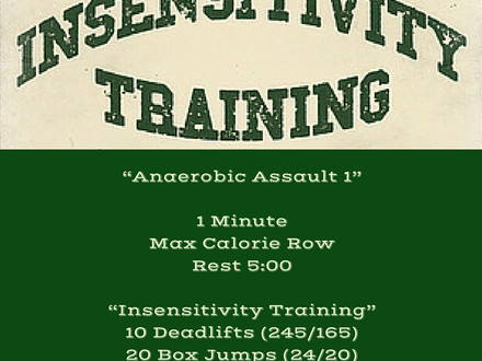 WOD for July 6, 2016