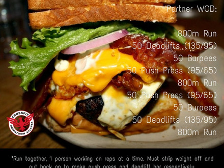 WOD for August 13, 2016