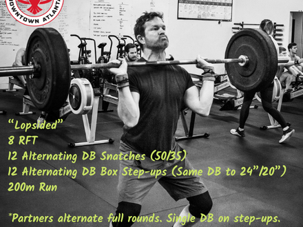 WOD for May 11, 2018
