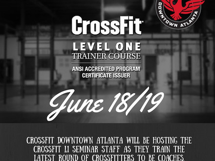 WOD for June 19, 2016