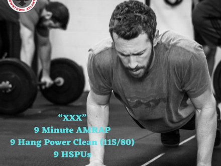 WOD for May 12, 2018