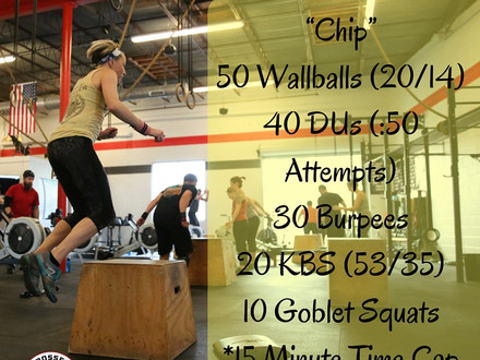 WOD for July 27, 2016