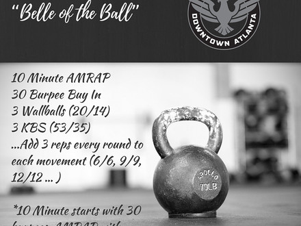 WOD for June 30, 2016