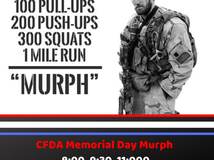 WOD for May 27, 2018