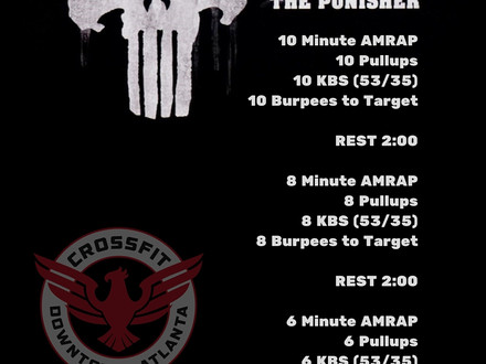 WOD for June 7, 2016