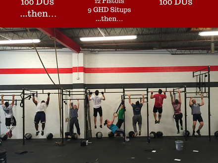 WOD for July 8, 2016