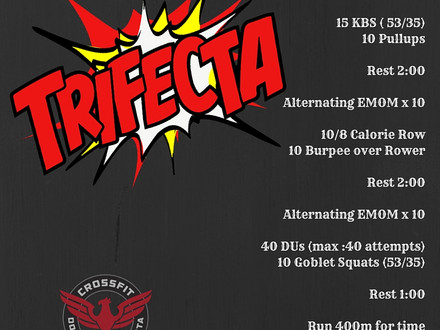 WOD for July 12, 2016